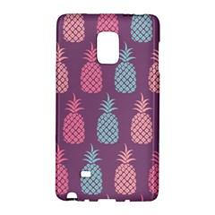 Pineapple Pattern  Galaxy Note Edge by Nexatart