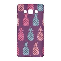 Pineapple Pattern  Samsung Galaxy A5 Hardshell Case  by Nexatart