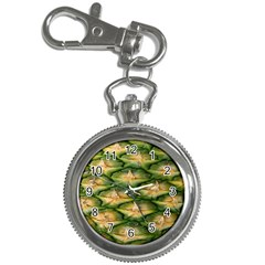 Pineapple Pattern Key Chain Watches by Nexatart