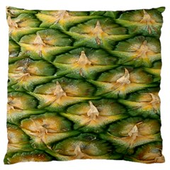 Pineapple Pattern Large Cushion Case (one Side) by Nexatart