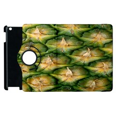 Pineapple Pattern Apple Ipad 2 Flip 360 Case by Nexatart