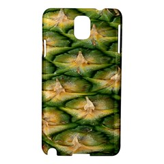 Pineapple Pattern Samsung Galaxy Note 3 N9005 Hardshell Case by Nexatart