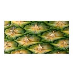 Pineapple Pattern Satin Wrap by Nexatart