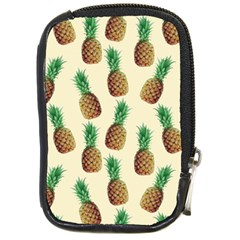 Pineapple Wallpaper Pattern Compact Camera Cases by Nexatart
