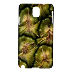 Pineapple Fruit Close Up Macro Samsung Galaxy Note 3 N9005 Hardshell Case by Nexatart