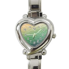 Plants Nature Botanical Botany Heart Italian Charm Watch by Nexatart