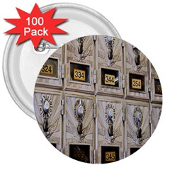 Post Office Old Vintage Building 3  Buttons (100 Pack)  by Nexatart