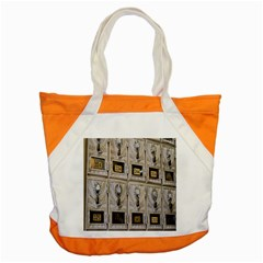 Post Office Old Vintage Building Accent Tote Bag by Nexatart