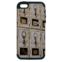 Post Office Old Vintage Building Apple Iphone 5 Hardshell Case (pc+silicone) by Nexatart