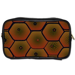 Psychedelic Pattern Toiletries Bags 2 Side