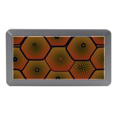 Psychedelic Pattern Memory Card Reader (mini) by Nexatart