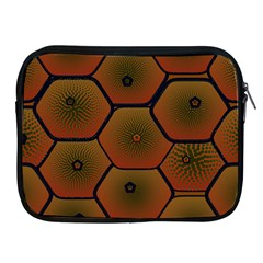 Psychedelic Pattern Apple Ipad 2/3/4 Zipper Cases by Nexatart