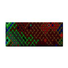 Psychedelic Abstract Swirl Cosmetic Storage Cases by Nexatart