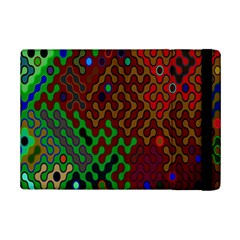 Psychedelic Abstract Swirl Ipad Mini 2 Flip Cases by Nexatart