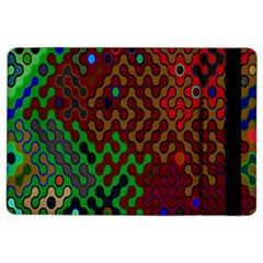 Psychedelic Abstract Swirl Ipad Air 2 Flip by Nexatart