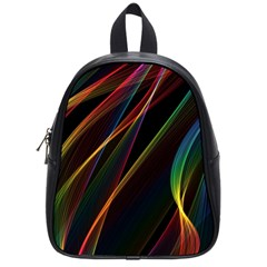 Rainbow Ribbons School Bags (small)  by Nexatart