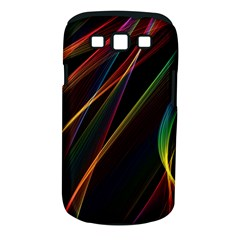 Rainbow Ribbons Samsung Galaxy S Iii Classic Hardshell Case (pc+silicone) by Nexatart
