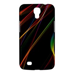 Rainbow Ribbons Samsung Galaxy Mega 6 3  I9200 Hardshell Case by Nexatart