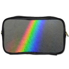 Rainbow Color Spectrum Solar Mirror Toiletries Bags 2 Side by Nexatart