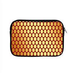 Red And Gold Effect Backing Paper Apple MacBook Pro 15  Zipper Case