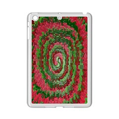 Red Green Swirl Twirl Colorful Ipad Mini 2 Enamel Coated Cases by Nexatart