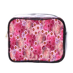 Roses Flowers Rose Blooms Nature Mini Toiletries Bags by Nexatart