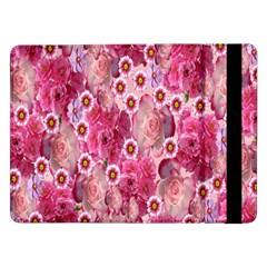 Roses Flowers Rose Blooms Nature Samsung Galaxy Tab Pro 12.2  Flip Case by Nexatart