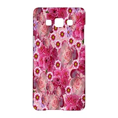 Roses Flowers Rose Blooms Nature Samsung Galaxy A5 Hardshell Case  by Nexatart