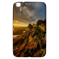 Scotland Landscape Scenic Mountains Samsung Galaxy Tab 3 (8 ) T3100 Hardshell Case  by Nexatart
