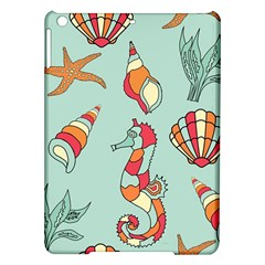 Seahorse Seashell Starfish Shell Ipad Air Hardshell Cases by Nexatart