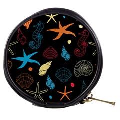 Seahorse Starfish Seashell Shell Mini Makeup Bags by Nexatart