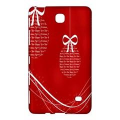 Simple Merry Christmas Samsung Galaxy Tab 4 (7 ) Hardshell Case