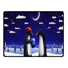 Small Gift For Xmas Christmas Fleece Blanket (Small)