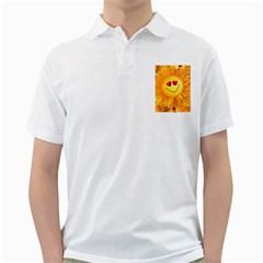 Smiley Joy Heart Love Smile Golf Shirts