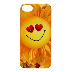 Smiley Joy Heart Love Smile Apple Iphone 5s/ Se Hardshell Case by Nexatart