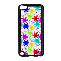 Snowflake Pattern Repeated Apple Ipod Touch 5 Case (black) by Nexatart