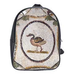 Sousse Mosaic Xenia Patterns School Bags (xl)  by Nexatart