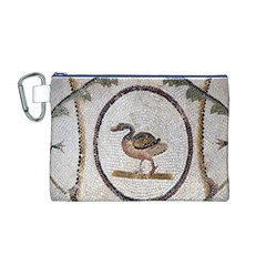 Sousse Mosaic Xenia Patterns Canvas Cosmetic Bag (m) by Nexatart