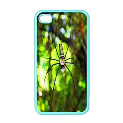 Spider Spiders Web Spider Web Apple Iphone 4 Case (color) by Nexatart