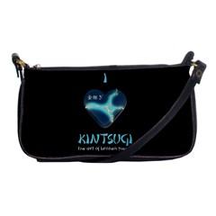 I Love Kintsugi Shoulder Clutch Bag by Tatami