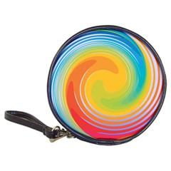 Rainbow Swirl Classic 20 Cd Wallets by OneStopGiftShop