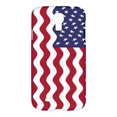 American Flag Samsung Galaxy S4 I9500/i9505 Hardshell Case by OneStopGiftShop