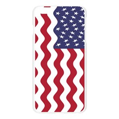 American Flag Apple Seamless iPhone 6 Plus/6S Plus Case (Transparent) by OneStopGiftShop