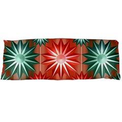 Star Pattern  Body Pillow Case Dakimakura (Two Sides) by Nexatart