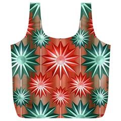 Star Pattern  Full Print Recycle Bags (l)