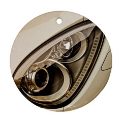 Spotlight Light Auto Round Ornament (two Sides) by Nexatart