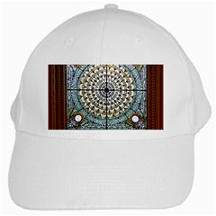 Stained Glass Window Library Of Congress White Cap by Nexatart