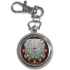 Stained Glass Window Library Of Congress Key Chain Watches by Nexatart