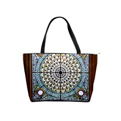 Stained Glass Window Library Of Congress Shoulder Handbags by Nexatart