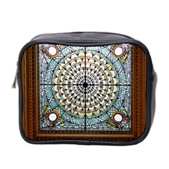 Stained Glass Window Library Of Congress Mini Toiletries Bag 2 Side by Nexatart